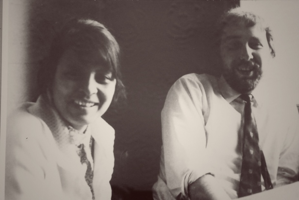 Before we were Two Doctors, Glasgow 1969!