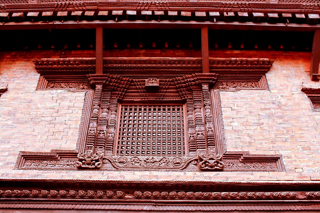 Wood Carved Window