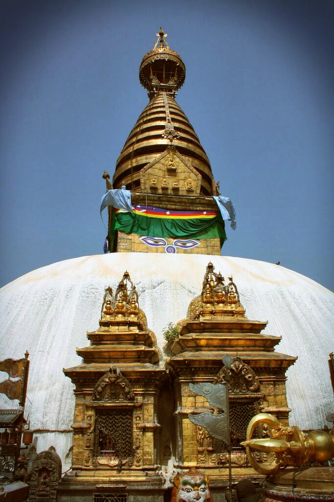 Scenic Sunday: Swayambhu and Noah's Flood ….. Kathmandu!