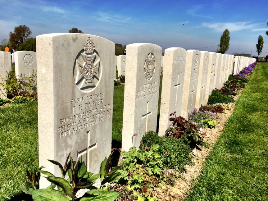 How Tyne Cot inspires mindfulness in Belgium