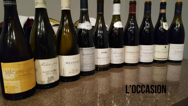 Red and White Burgundy Wines