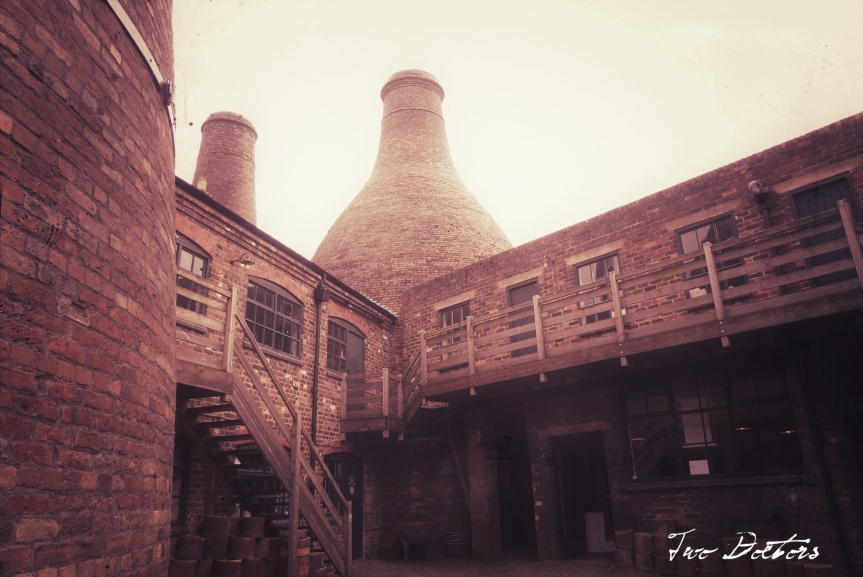 Postcard from England #1, The Gladstone Pottery Museum