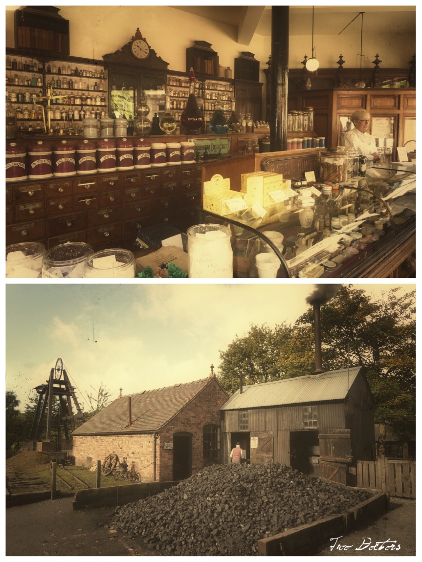 Postcard from England #2, Blists Hill VictorianTown