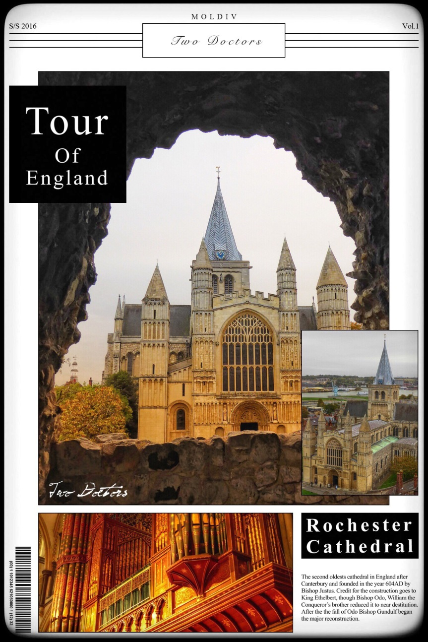 Tour of England: Postcard #8 Rochester and The Medway