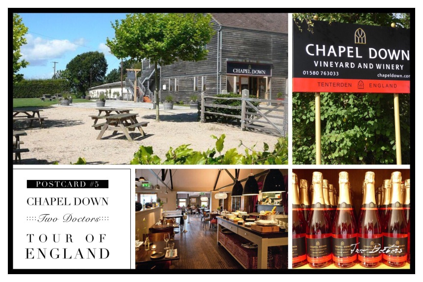 Postcard from England: #5 Chapel Down Vineyard