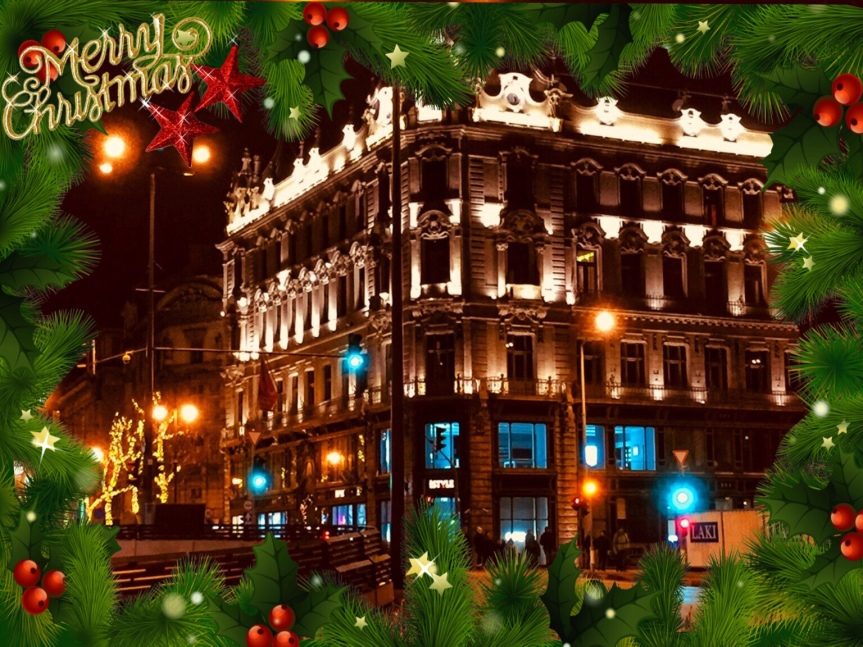Merry Christmas fromBudapest