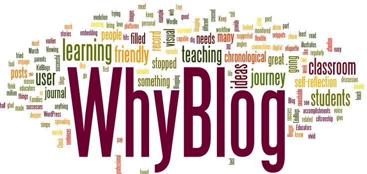 Why are you following our blog?