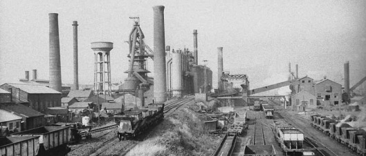 Millom Ironworks, Cumbria, blast furnaces