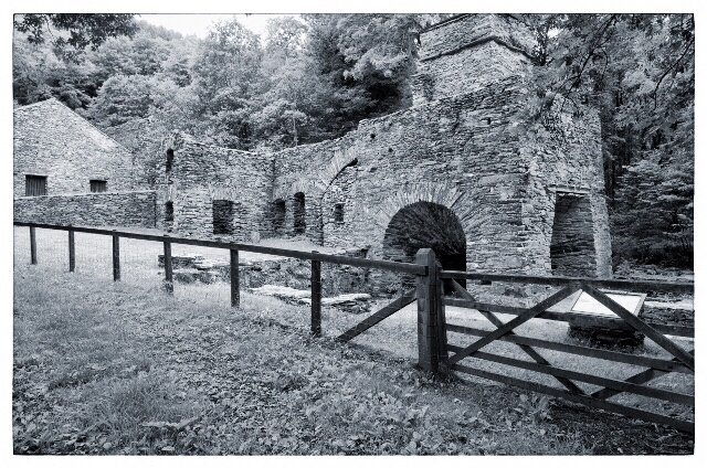 Duddon furnace, Cumbria, English Heritage