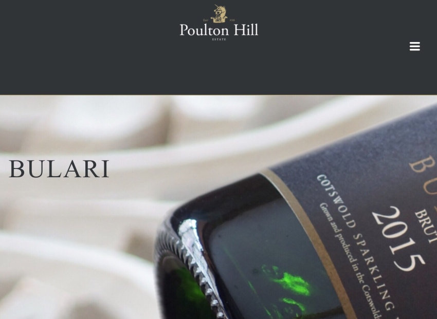 Bulari, a new word for English sparkling wine