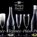 101 Wines Bucket List wine tasting standards