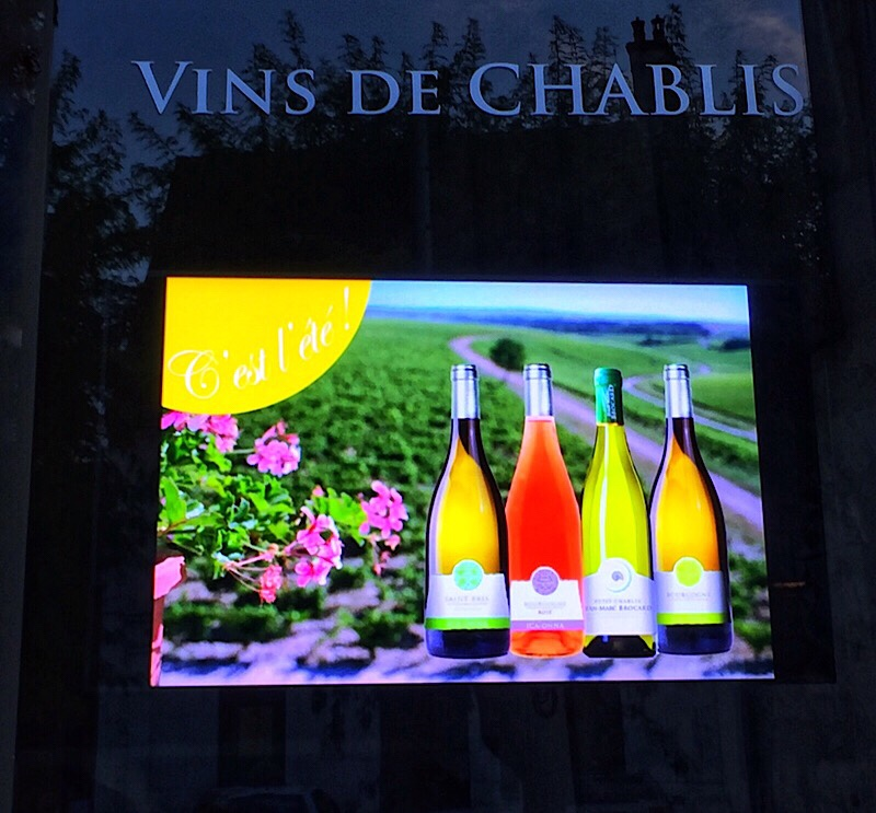 Postcard from Chablis …. a day of new discoveries!