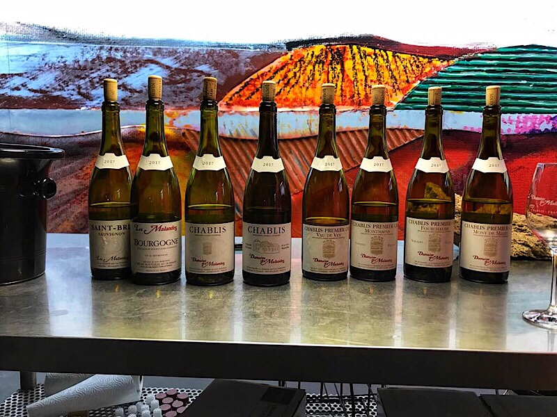 Full range of Chablis, Domaine Malandes, Chablis, Richard Rottiers