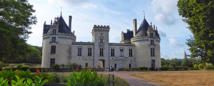 Chateau de Breze, If only walls could talk!