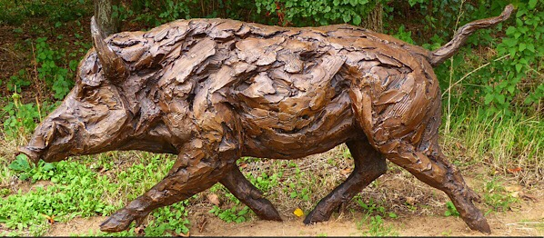 Sculpture in the vineyard …. a stunning exhibition!