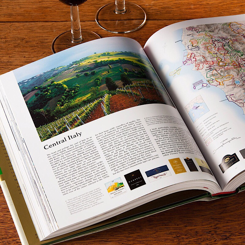 The world wine atlas, the best wine reference book