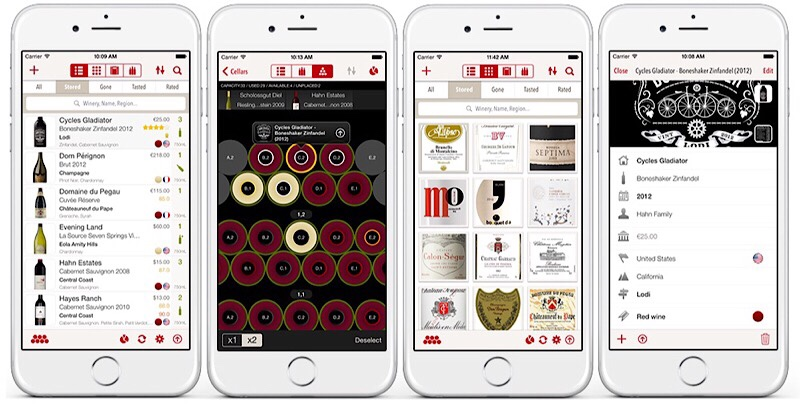 VinoCell the best wine app for monitoring your wine collection