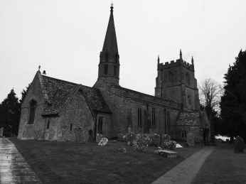 St Andrews church, Wanborough, Wiltshire