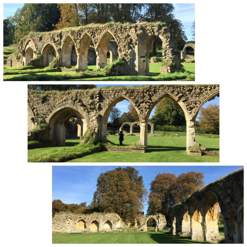 Exterior walls of Hailes Abbey, Gloucestershire, Relic of the Holy Blood site