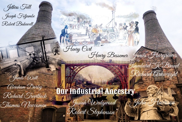 The key players in the Industrial Revolution
