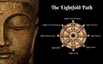The Eightfold Path of Buddhism to end suffering