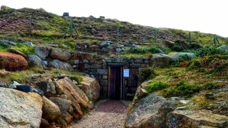 Entrance to Wheal Mexico at Geevor tin mine