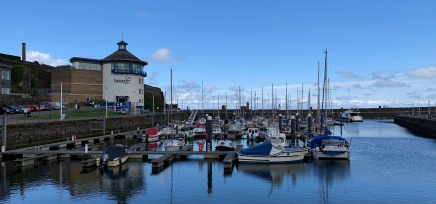 Cumbrian coast, Whitehaven harbour