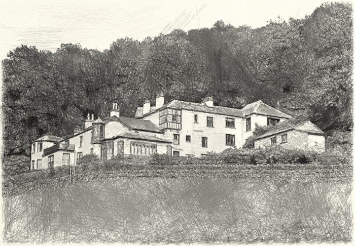 Brantwood, Coniston, home of John Ruskin